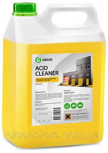 """Кислотное средство для очистки фасадов Grass """"Acid Cleaner"""", 5,9 кг."""