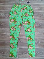 Лосины женские цветные бамбук+хлопок Panyixin, с карманами, 5X, 6X, 7XL, 807