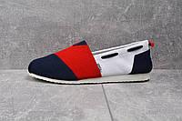 Мужские слипоны Toms красно-белые