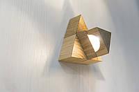 Светильники ручной работы, минимализм, модерн, светодиодный бра, деревянный светильник, настенный - Star