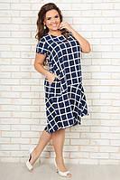 Женское платье (50, 52, 54) — ликра-софт от компании Discounter.top