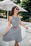 Женское платье (42, 44, 46) — Коттон купить в розницу в одессе  7км