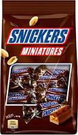 Шоколадные конфеты Snickers Miniatures, 150 гр.