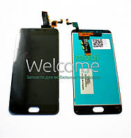 Дисплей Meizu M5 with touchscreen black orig