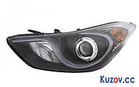 Фара передняя для Hyundai Elantra MD '11-15 правая (FPS) электрич.