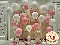 №2 Оформление фотозоны  гелиевыми шарами Днепр