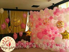 №3 Фотозона з повітряних та гелієвих кульок Дніпро