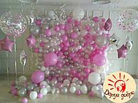 №4 Оформление фотозоны воздушными и гелиевыми шарами Днепр
