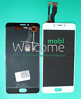 Дисплей Meizu M5 Note with touchscreen white orig