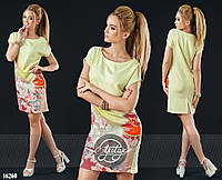 Женское платье (42 44 46 48 50 52 54 56) — лён от компании Discounter.top