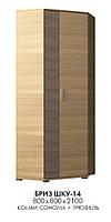 Шкаф угловой Бриз ШКУ-14, производитель мебельная фабрика Эверест, фото 1