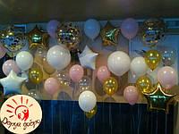 №12 Фотозона из гелиевых шаров Днепр