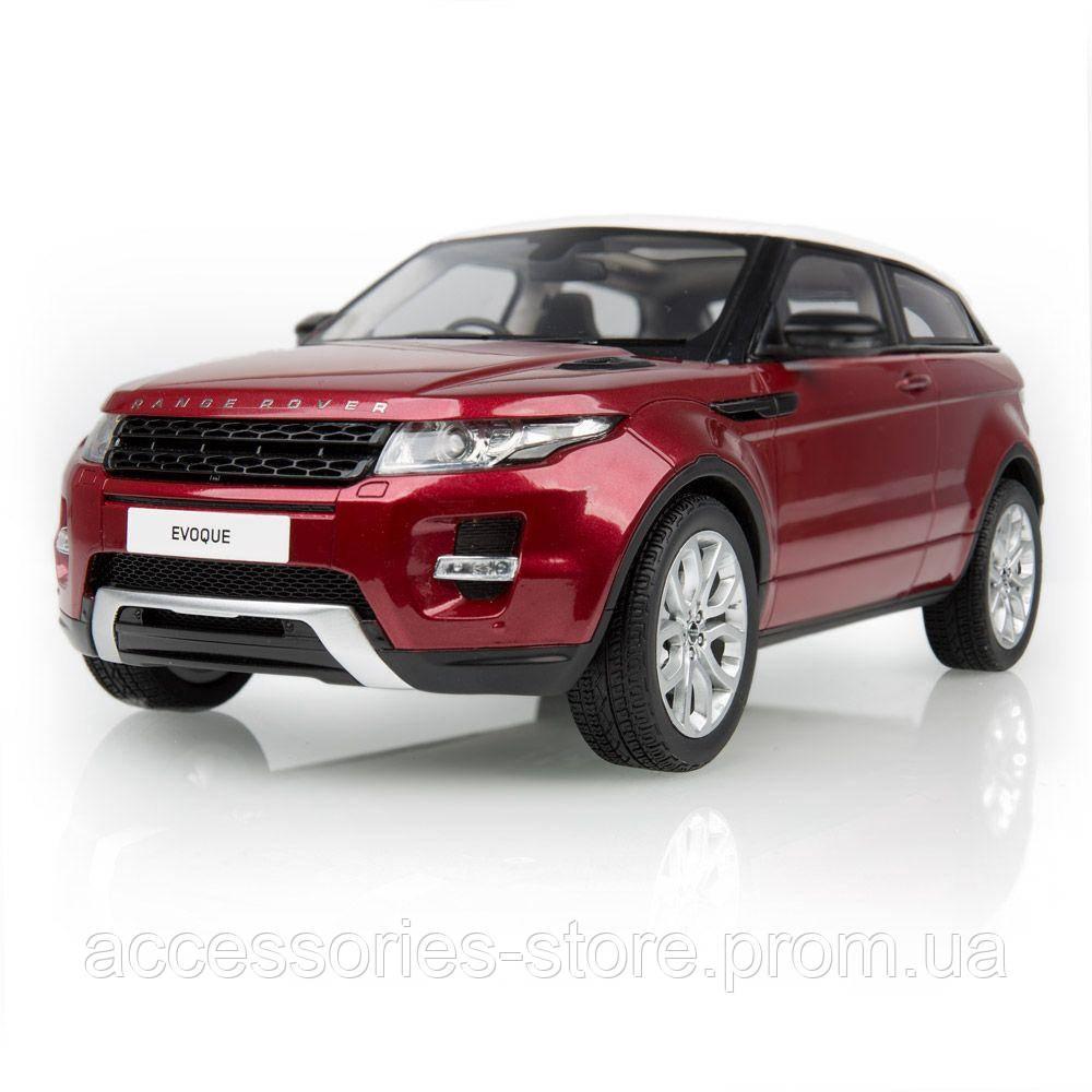 Модель автомобиля Range Rover Evoque, Scale 1:18, Firenze Red