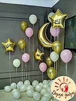 №15 Фотозона из гелиевых шаров Днепр