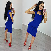 Женское платье (S-M) — креп дайвинг от компании Discounter.top