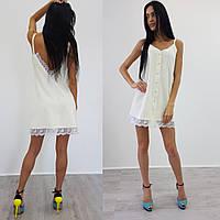 Женское платье (S-M) — костюмка от компании Discounter.top