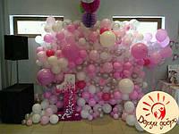 №17 Фотозона из воздушных шаров Днепр
