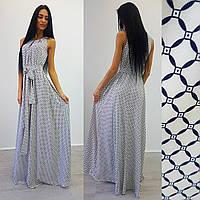 Женское платье (S-M) —костюмка  от компании Discounter.top