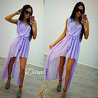 Женское платье (S-M) —шифон купить в розницу в одессе  7км