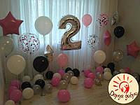 №21 Фотозона из гелиевых шаров Днепр