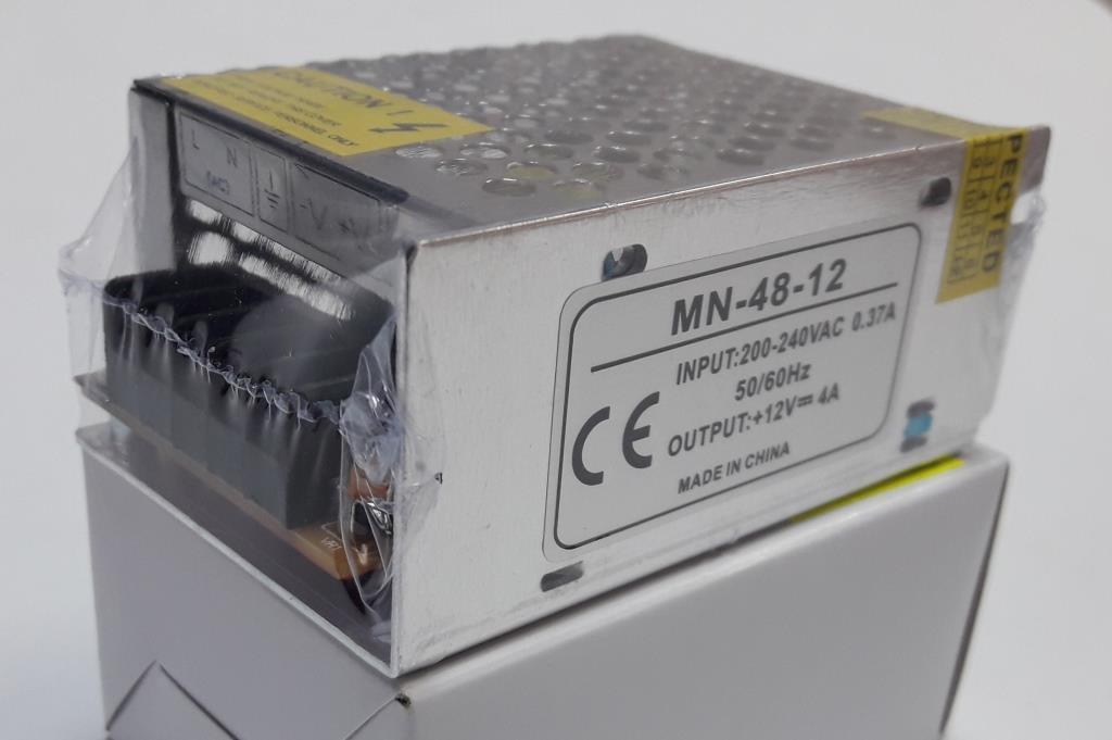 Блок питания 12V-48W-4А