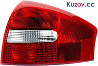 Фонарь задний для Audi A6 седан '01-05 правый (DEPO) зад ход красно-белый 1327882E
