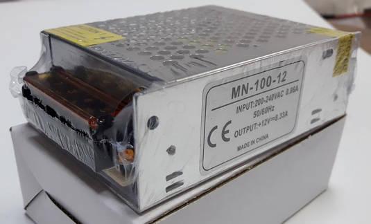Блок питания 12V-100W-8,3А