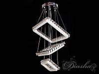 Хрустальная светодиодная люстра-подвес 2247-400-3