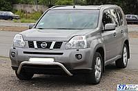 Защита переднего бампера (кенгурятник)  Nissan X-Tail с 2006+
