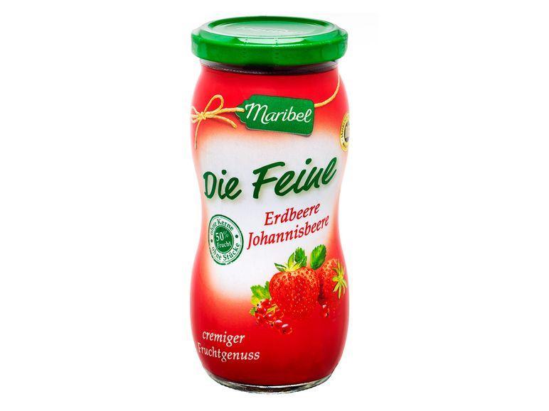 Джем Maribel Erdbeere из клубники 50% содержание фруктов, 300 г.