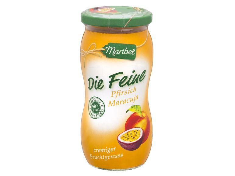 Джем Maribel из персиков и маракуйи, 50% содержания фруктов, 300 г.