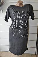 Платье-туника женская полубатал, Турция 48-52р