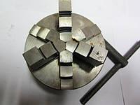 Патрон 3-х кулачковый токарный Ф160 (7100-0005) на планшайбу (Псков)