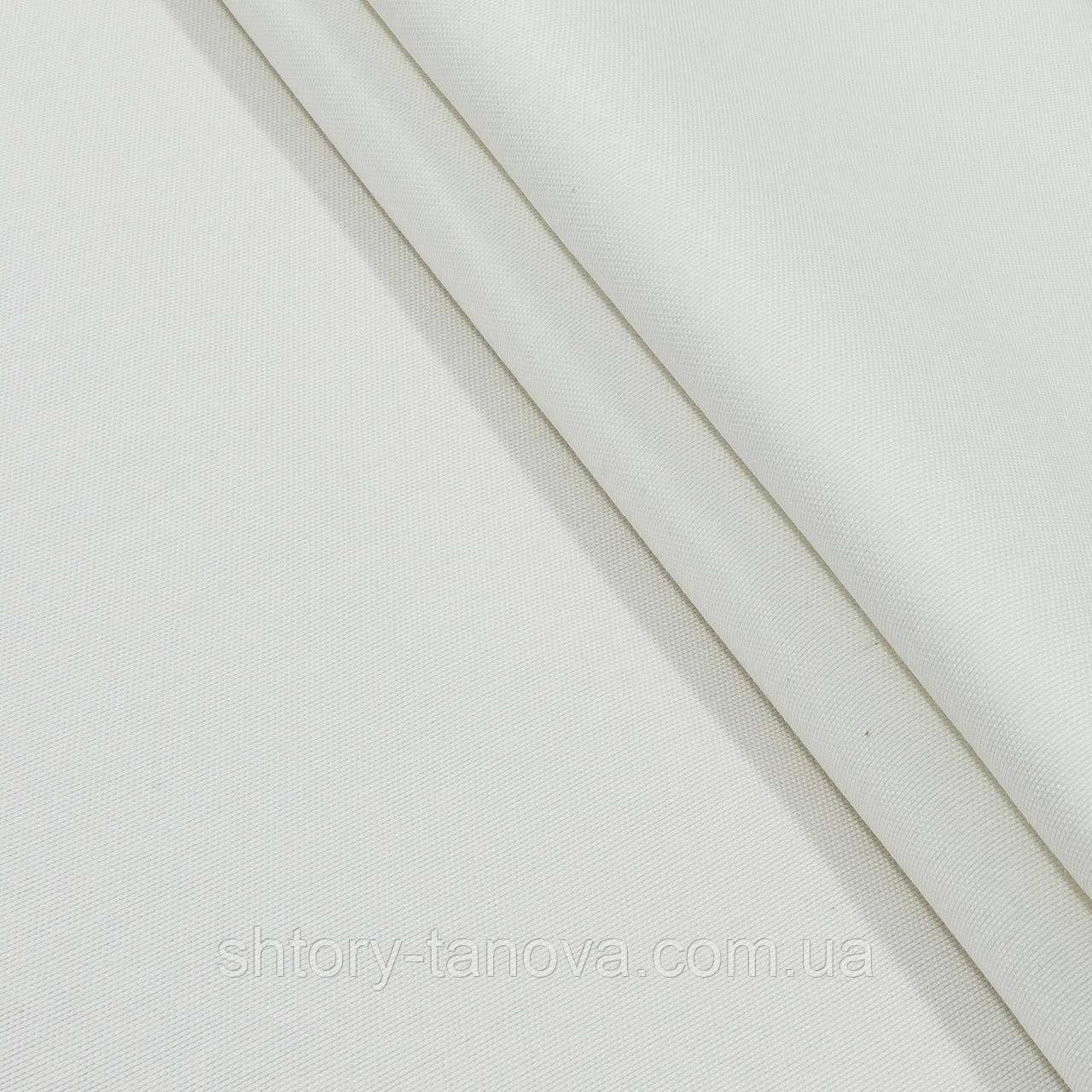 Іспанія натуральна тканина для штор з тефлоновим покриттям молочний