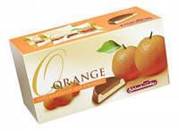 Марципан в шоколаде Schluckwerder Edelmarzipan Orange с апельсиновым джемом, 300 грамм, фото 1