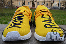 Мужские кроссовки Adidas Originals x Pharrell Williams NMD Yellow BB0619, фото 3