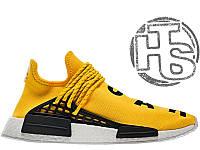 d67477c2 Мужские кроссовки Adidas Originals x Pharrell Williams NMD Yellow BB0619