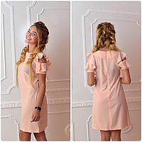 Платье 783 персик