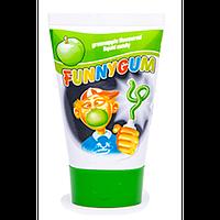 Жевательная резинка FunnyGum зеленое яблоко, 40 грамм