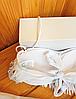 Купальник бандо с бахромой белый, фото 5