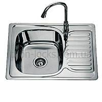 Кухонные мойки из нержавеющей стали TRION 5848 Декор 0.8 mm