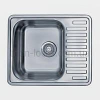 Кухонные мойки накладные TRION 6448 Декор 0.8 mm