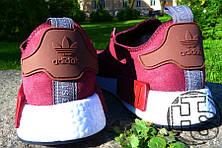 Жіночі кросівки Adidas NMD R1 Maroon S75231, фото 3