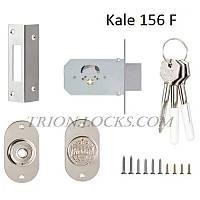 Механизм дверей врезной KALE 156 F 3 ключа Хром
