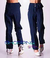 Зимние школьные брюки с начесом. Ткань турецкий тиар с начесом