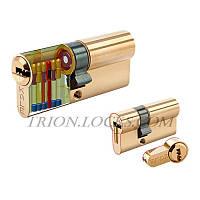 Цилиндры Kale 164 KTB S 45+10+45 100 mm никель 5 ключей