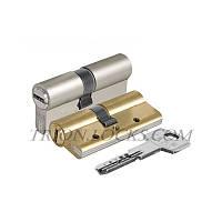 Цилиндры под ключ KALE 164 DBNE 40+10+40: 90 mm никель 5 ключей