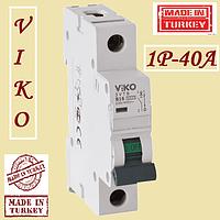 Автоматические выключатели (автомат) Vi-Ko 1p 40А