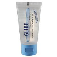 Лубрикант GLIDE Liquid Pleasure- 30ml Waterbased Lubricant Бесплатная доставка