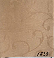 Рулонная штора Акант (580х1600). 1839. Капучино.
